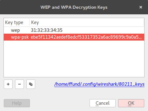 Press OK And Re Open The WAP Packet Capture Is Mallory Able To Read Message In Plaintext
