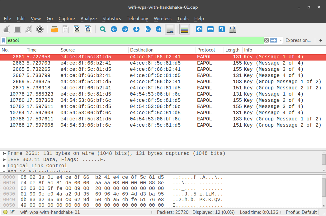 Passive sniffing in 802 11 networks